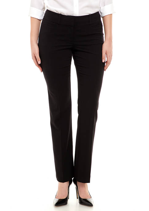 Womens Straight Leg Pants