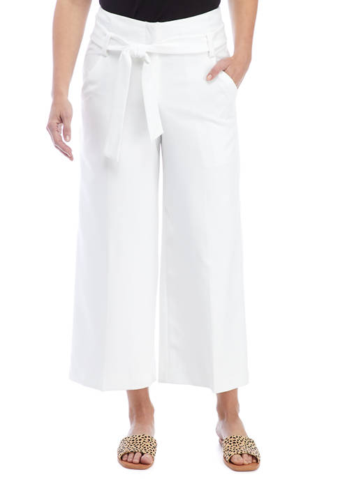 THE LIMITED Womens High Waist Cropped Pants