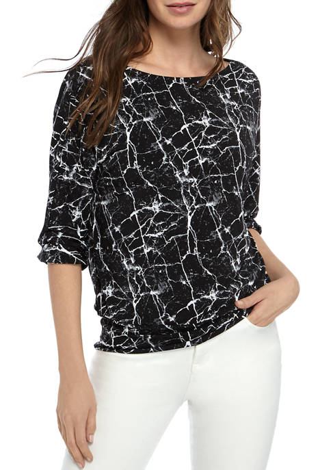 THE LIMITED Womens Back Band Top