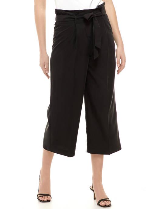 Womens Paper Bag Trouser Pants