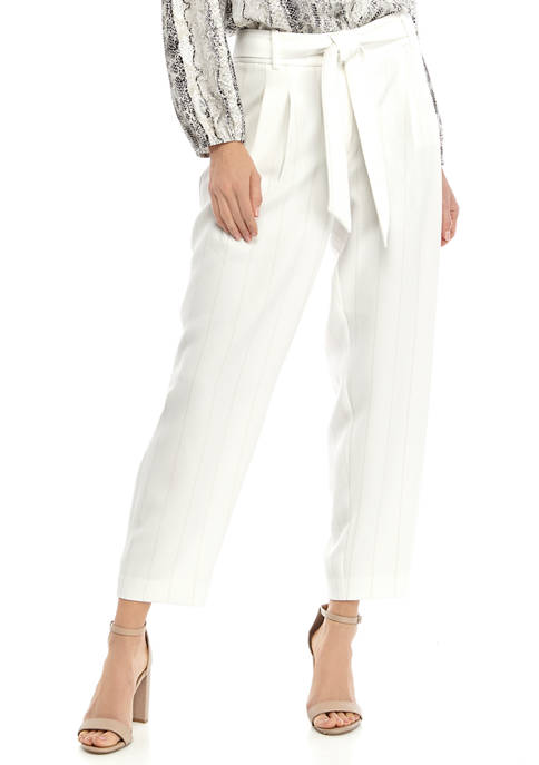 Womens Tapered Yarn Dye Pants