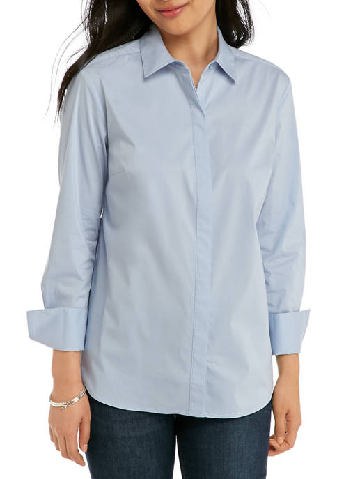 Petite Boyfriend Shirt
