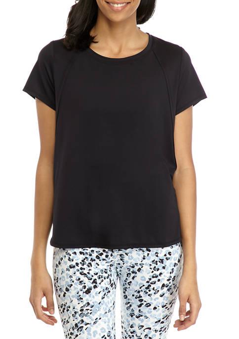 Short Sleeve Seaming T-Shirt