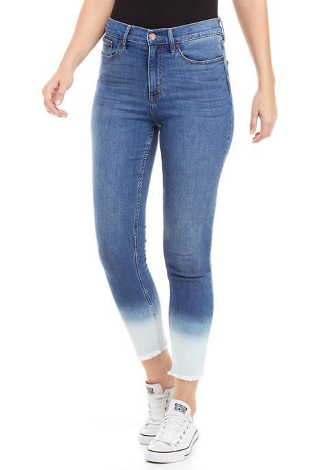Calvin Klein Jeans High Rise Skinny Ankle Bleach