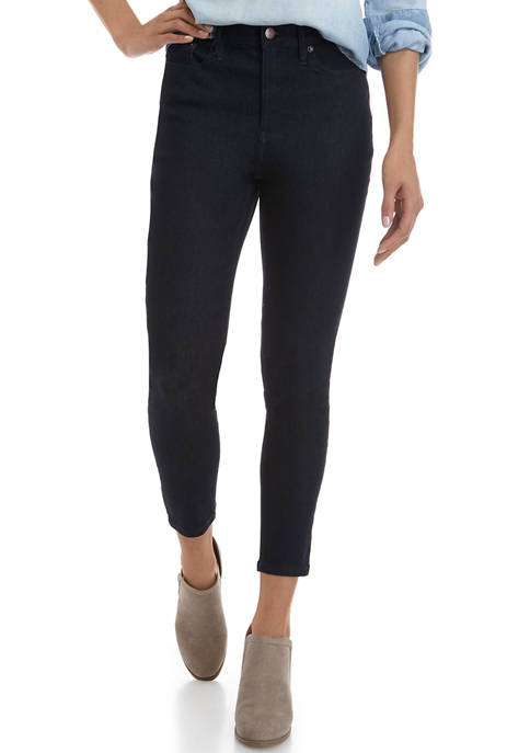 Calvin Klein Jeans Womens High Rise Skinny Jeans