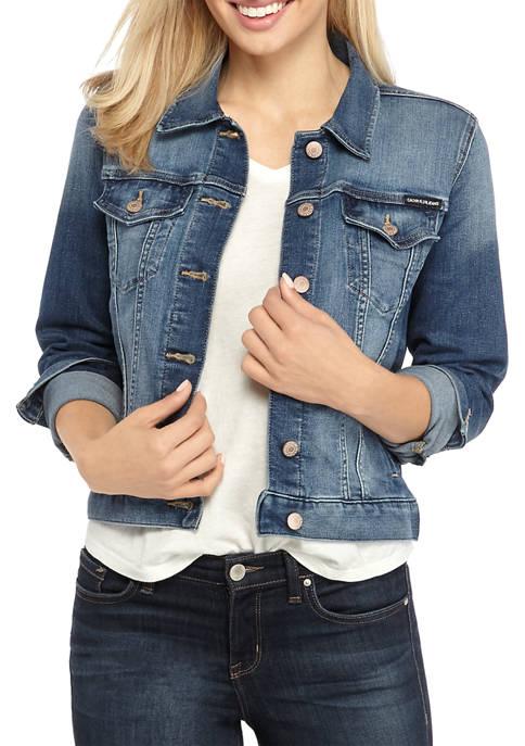 Calvin Klein Jeans Womens Whisper Soft Trucker Jacket