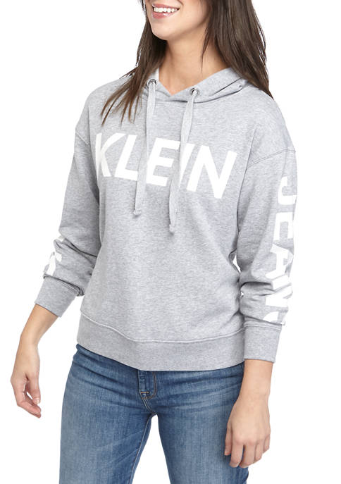 Calvin Klein Jeans Womens Traveling Logo French Terry