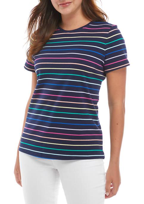 Kim Rogers® Womens Short Sleeve Polo Shirt