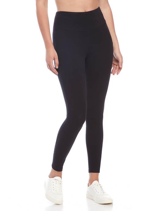 Wonderly Studio Women's High Rise Pull On leggings