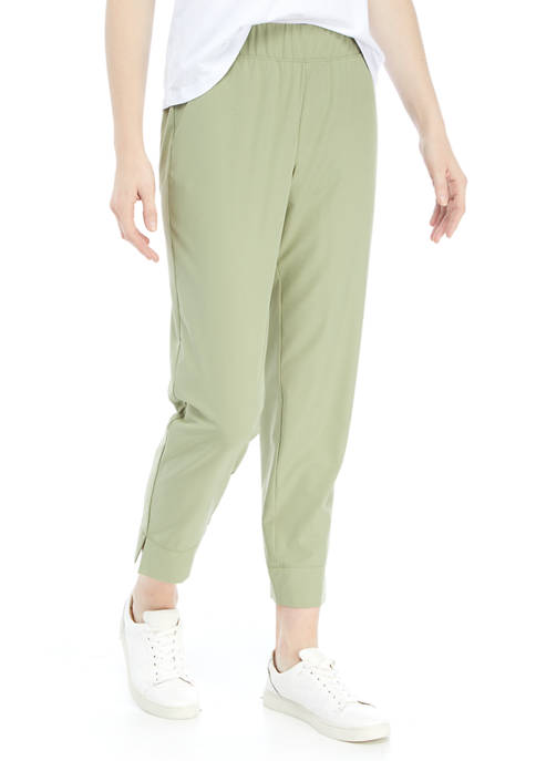 New Directions® Studio Womens Pull On Stretch Woven