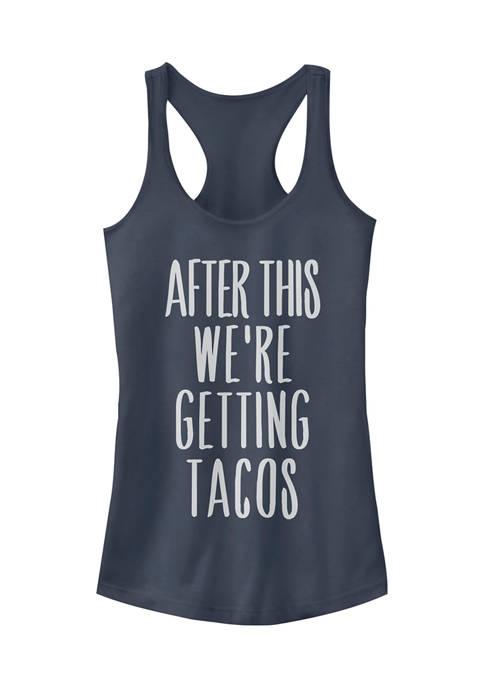 Juniors After Tacos Tank Top