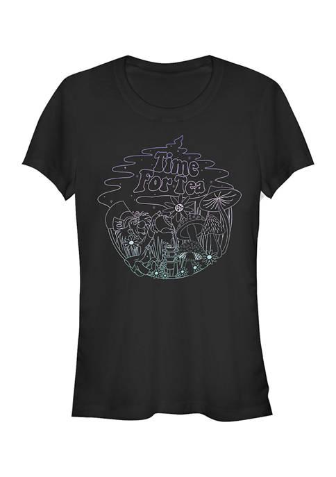 Juniors Officially Licensed Disney Alice in Wonderland T-Shirt