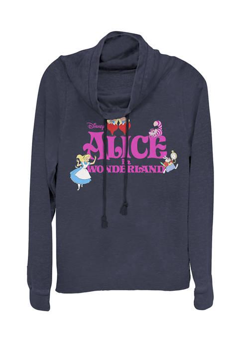 Alice in Wonderland Juniors Licensed Disney Wonderland Pullover