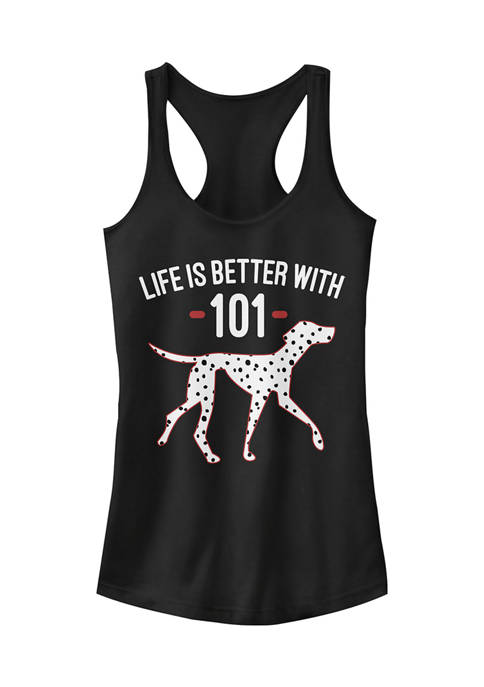 101 Dalmations Juniors Licensed Disney Better With Tank