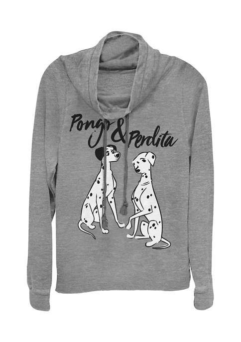 101 Dalmations Juniors Licensed Disney Pongo Perdita Pullover