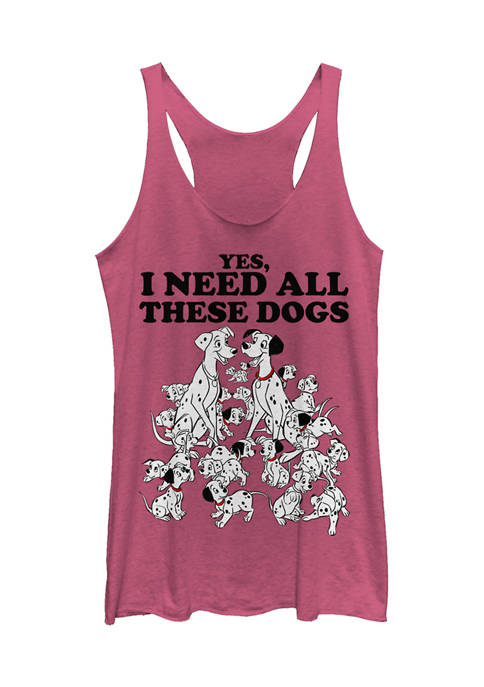 Officially Licensed Disney 101 Dalmations Tank Top