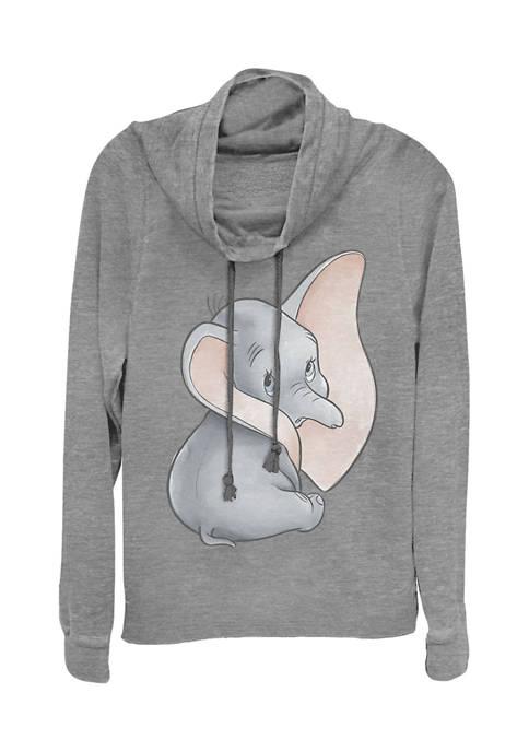 Juniors Licensed Disney Just Dumbo Pullover Top