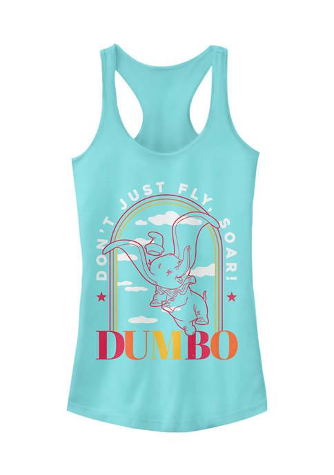 Dumbo Juniors Licensed Disney Soaring Arch Tank Top