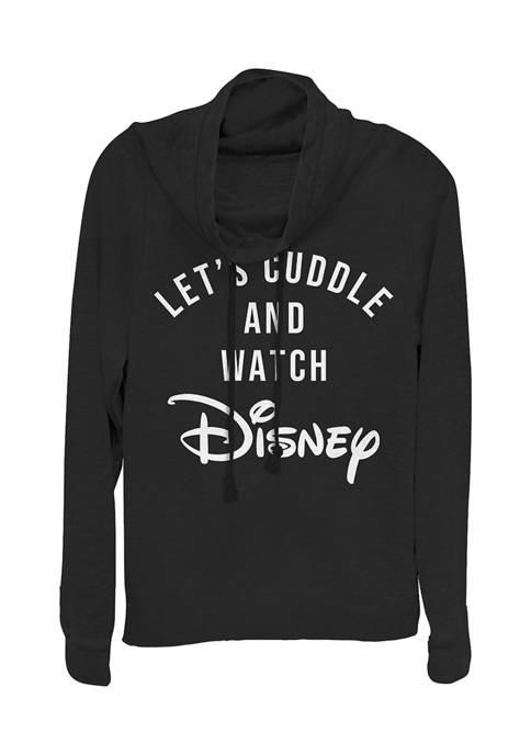 Juniors Officially Licensed Disney Logo Pullover