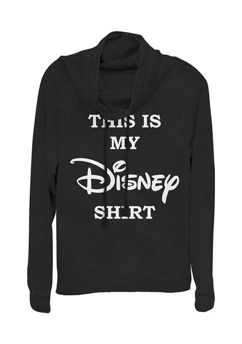 Disney Logo Juniors Licensed Disney My Disney Shirt