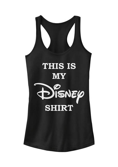 Disney Logo Juniors Licensed Disney My Disney Shirt