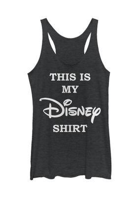 Disney Logo Womens Juniors Licensed Disney My Disney Shirt Tank Top