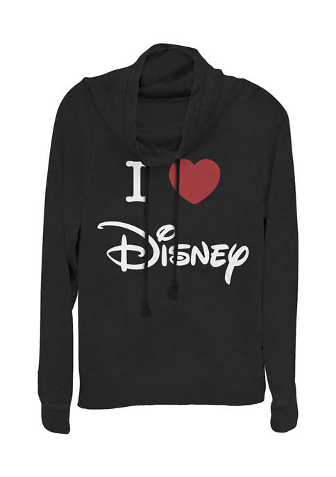 Disney Logo Juniors Licensed Disney I Heart Disney