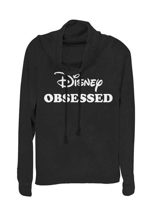 Disney Logo Juniors Licensed Disney And Chill Pullover