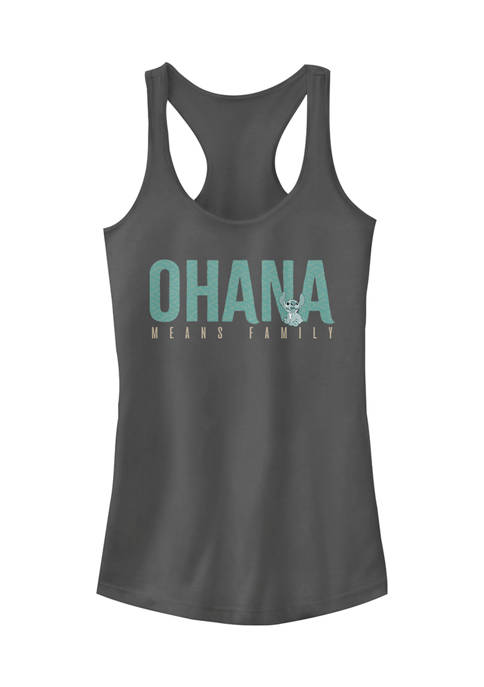 Juniors Officially Licensed Disney Lilo and Stitch Tank