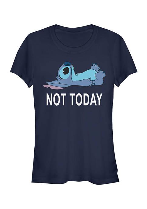 Juniors Licensed Disney Not Today T-Shirt