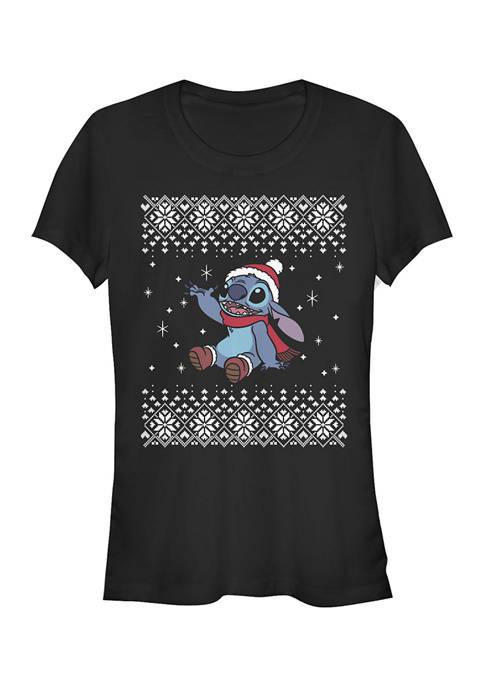 Lilo and Stitch Juniors Licensed Disney Stitch Christmas