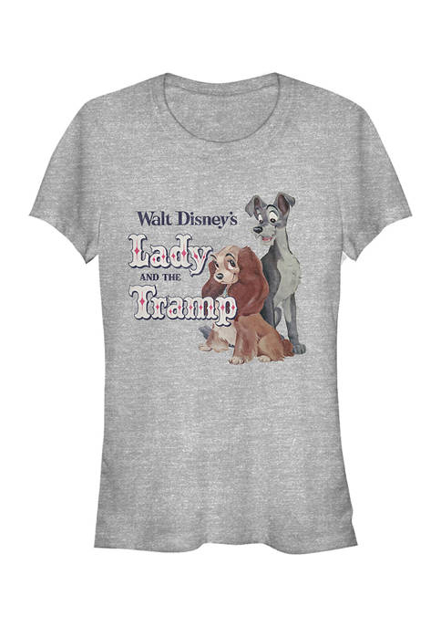 Juniors Licensed Disney Lady And The Tramp T-Shirt