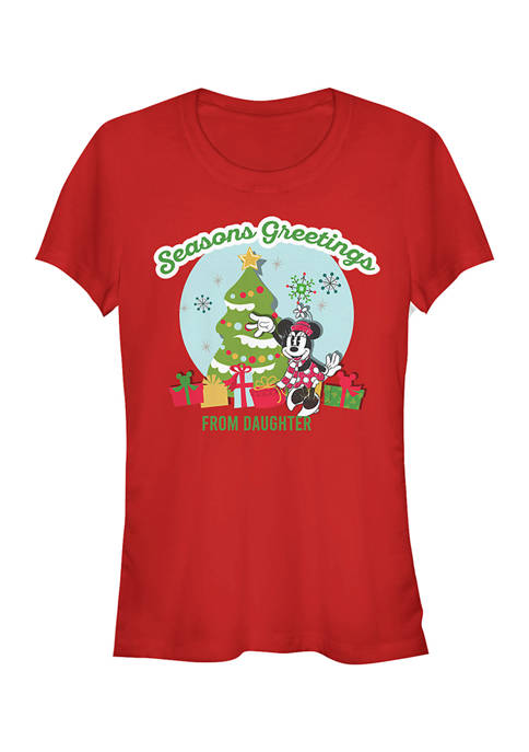 Juniors Officially Licensed Disney Mickey Classic T-Shirt