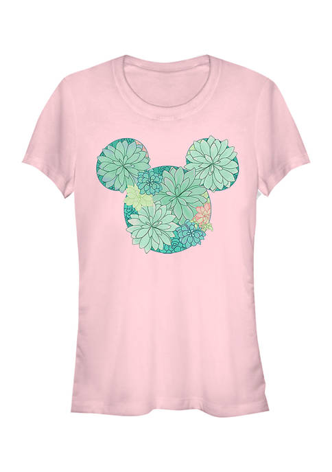 Juniors Licensed Disney Succulents T-Shirt