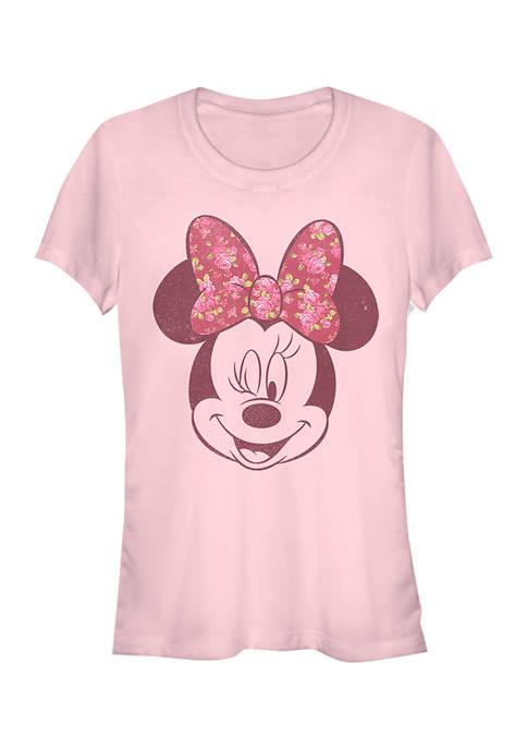 Juniors Licensed Disney Love Rose T-Shirt