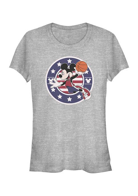 Mickey Classic Juniors B Ball Americana Graphic T-Shirt