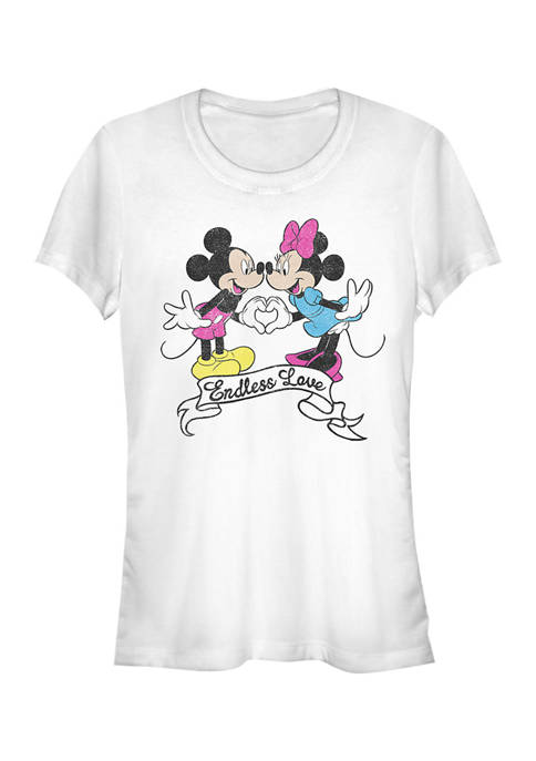 Mickey Classic Juniors Licensed Disney Endless Love T-Shirt