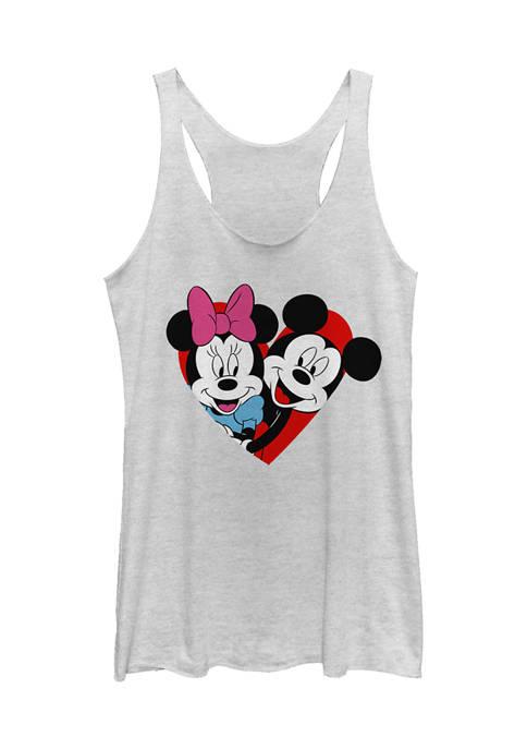 Mickey Classic Juniors Licensed Disney Mickey Minnie Heart