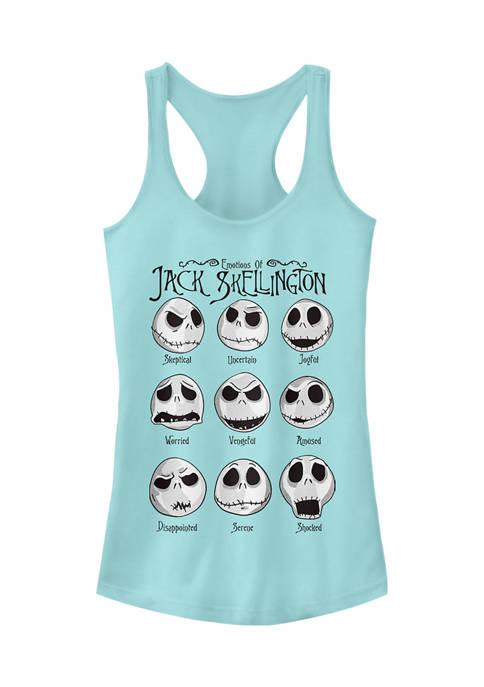 Nightmare Before Christmas Juniors Licensed Disney Jack Emotions