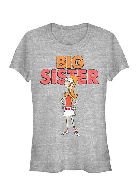 Juniors Phineas and Ferb The Sister T-Shirt