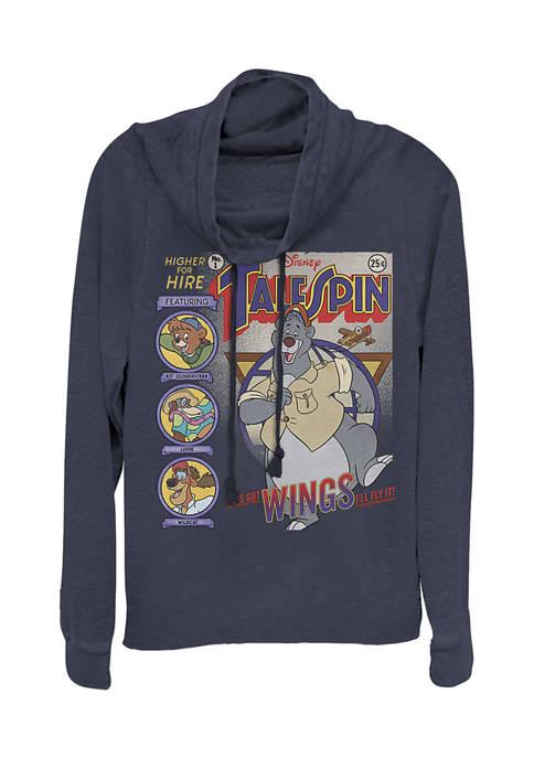 Juniors Licensed Disney Tales Cover Pullover Top