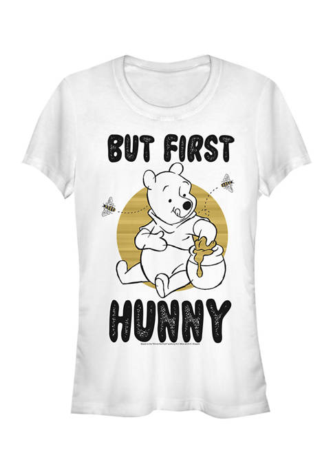 Juniors Licensed Disney First Hunny T-Shirt