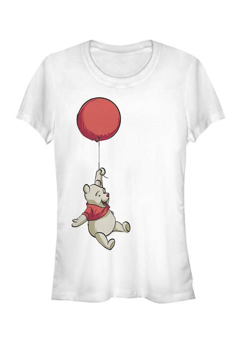 Juniors Licensed Disney Balloon Winnie T-Shirt