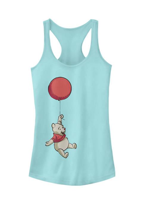 Juniors Licensed Disney Balloon Winnie Tank Top