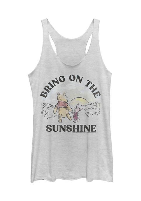 Juniors Licensed Disney Bring On The Sunshine Tank Top