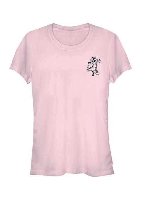 Juniors Licensed Disney Vintage Line Tigger T-Shirt