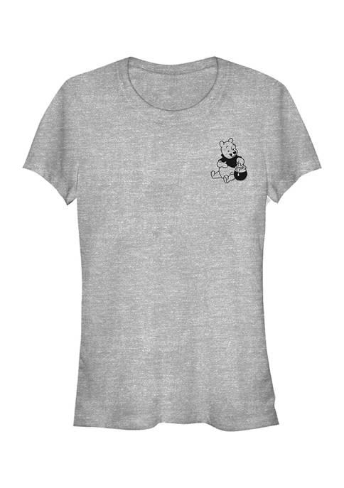 Juniors Licensed Disney Vintage Line Winniepooh T-Shirt