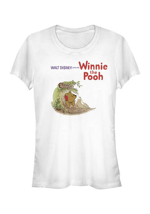 Juniors Licensed Disney Winnie The Pooh Vintage T-Shirt