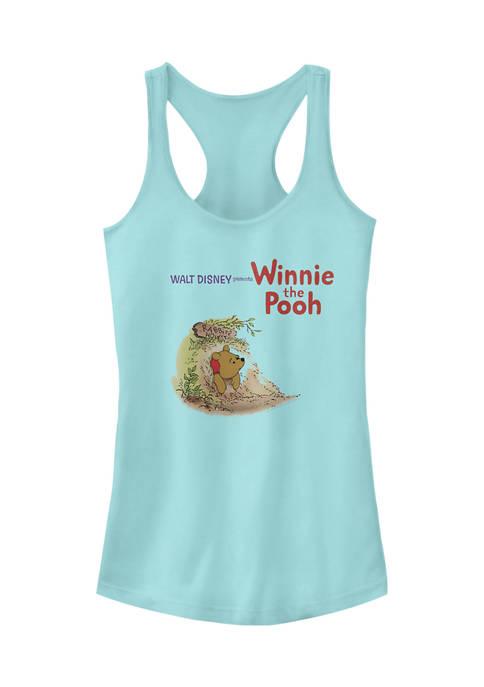Juniors Licensed Disney Winnie The Pooh Vintage Tank Top