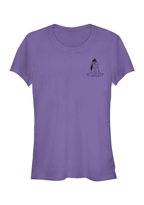 Juniors Licensed Disney Vintage Line Eeyore T-Shirt